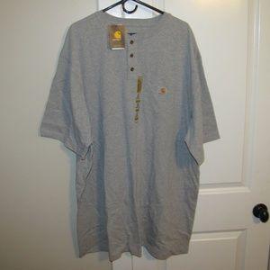 Carhartt Men's Short Sleeve Workwear Henley 3XLT